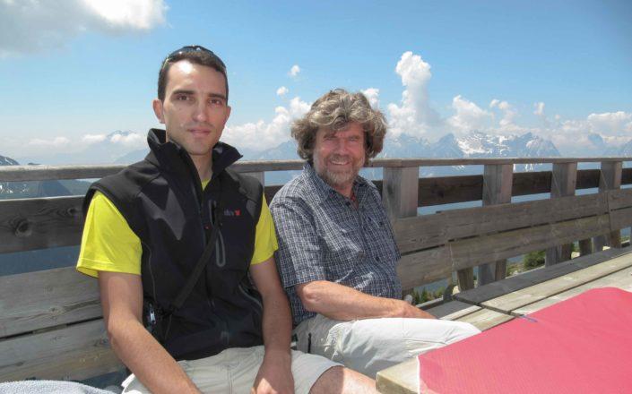 Messner al Monte Rite (2183m)