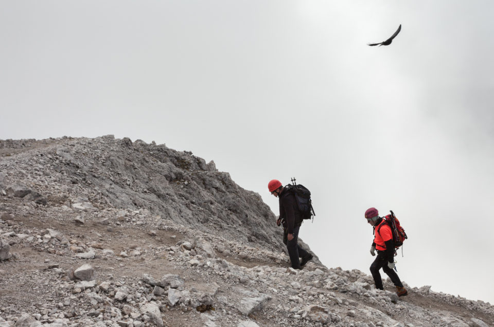 Top of Sass de Putia / Peitlerkofel (2875m)
