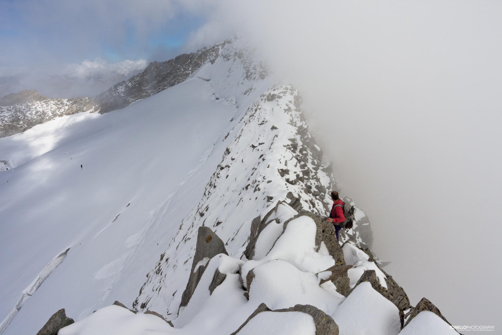 Hohe Weisszint / Punta Bianca (3370m)