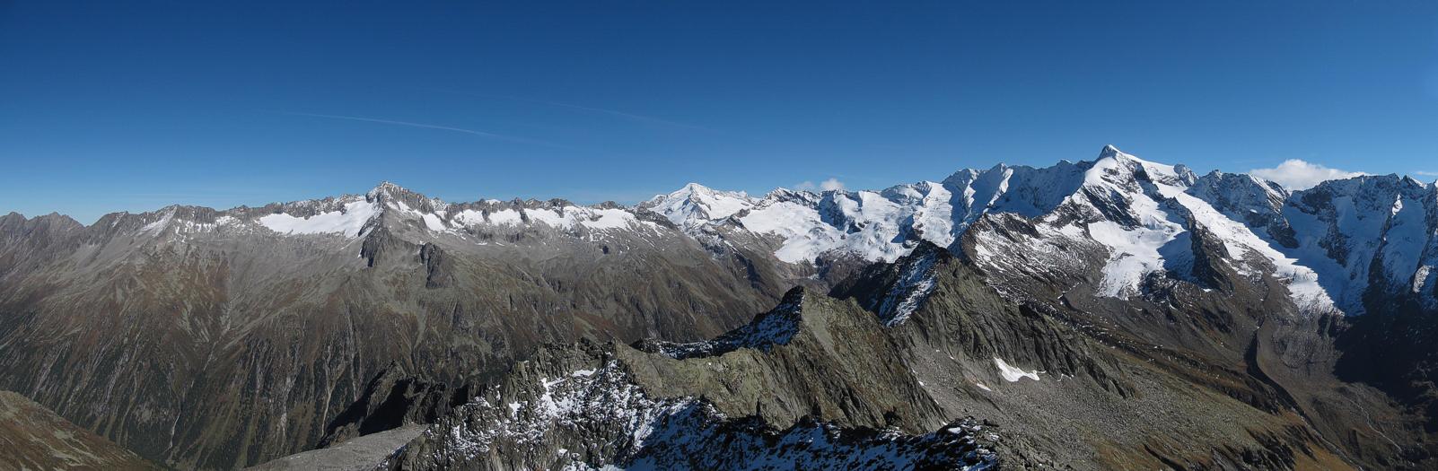 Kasern - Birnlucke - Lausitzerweg - Vetta d'Italia - Tauernalm