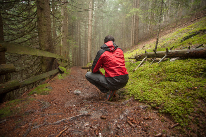 """Misty forest & """"Gassltorggelen"""" in Chiusa (BZ)"""