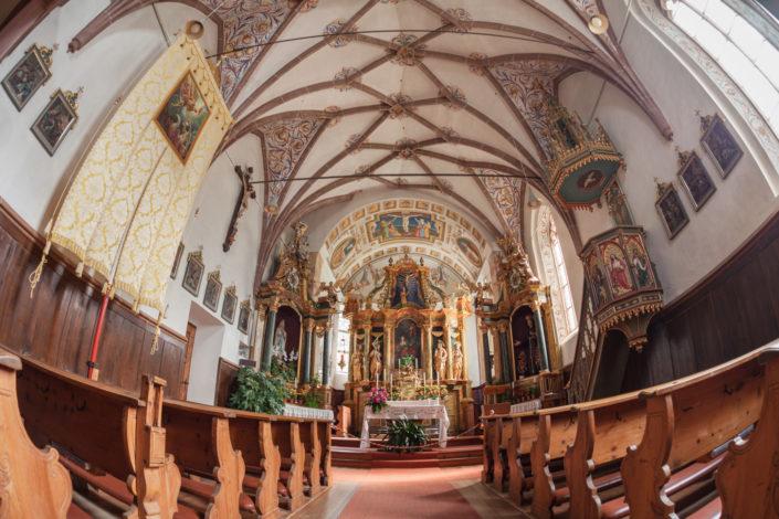 Around St. Magdalena little church