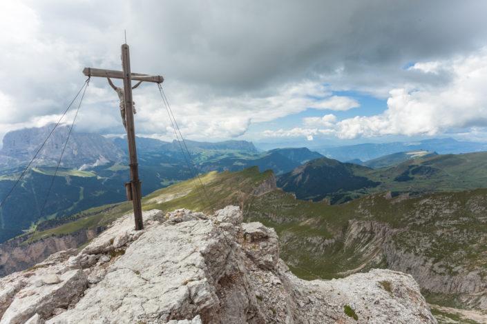 Puez: Col Dala Pieres (2729m)